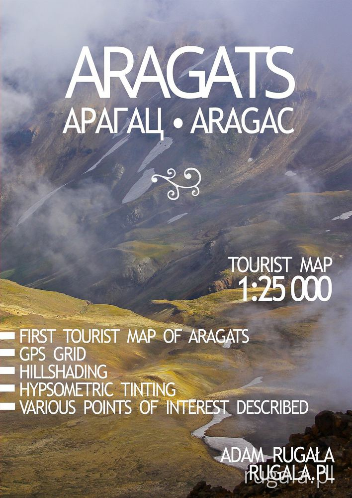 Map of Mount Aragats - cover