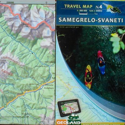 Geoland - travel map no. 4: Samagrelo-Svaneti