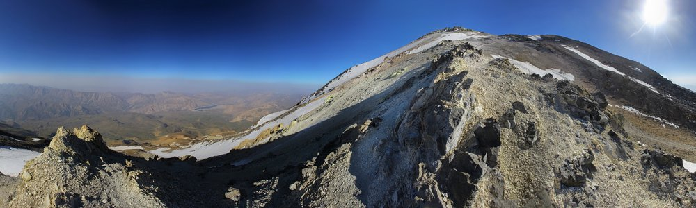 Damavand - southern route - 5350 m