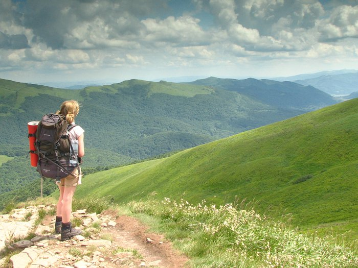 Following traces of Bieszczady