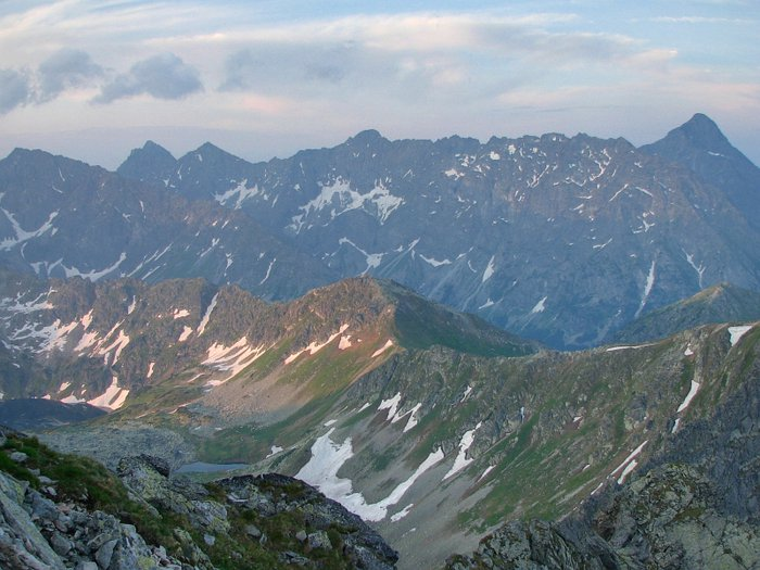 The Tatras at night