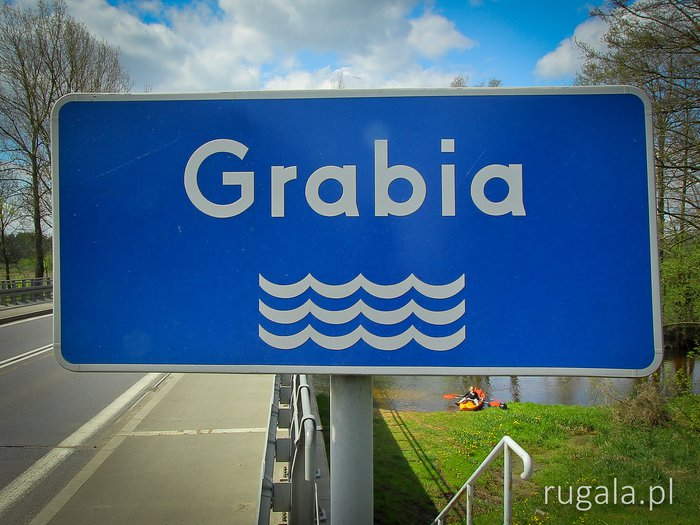 Kayaking the River Grabia